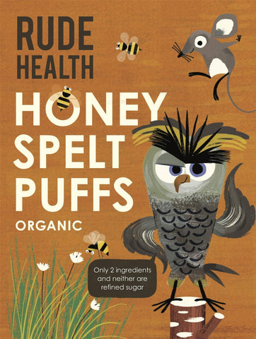 Rude Health Foods - Honey Puffed Spelt 175g