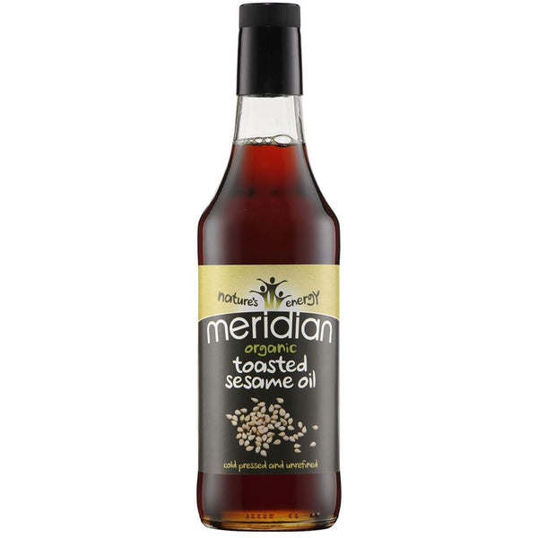 Meridian - Toasted Sesame Oil - Organic 500ml