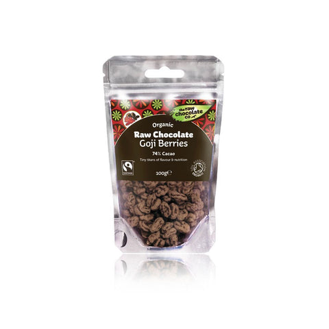 The Raw Chocolate Co - Goji Berries 125g