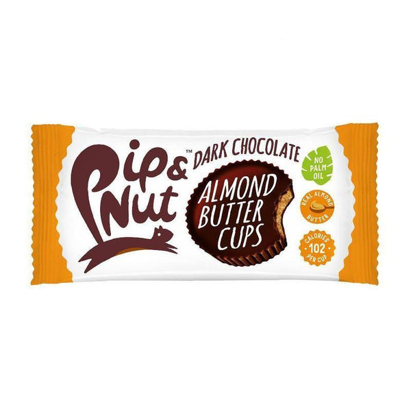 Pip & Nut - Dark Chocolate Almond Butter Cups 34g