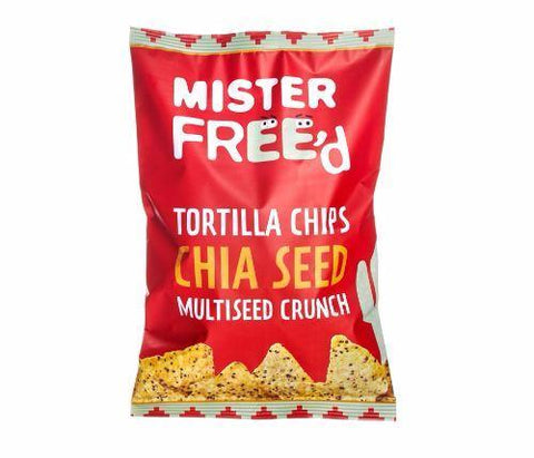 Mister Free'd - Tortilla Chips With Chia Seed - 12 x 135g