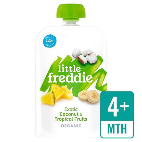 Little Freddie - Exotic Coconut And Tropical Fruits 100g