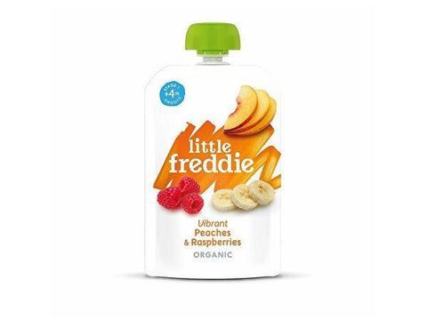 Little Freddie - Vibrant Peaches & Raspberries 100g