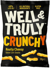Well & Truly - Crunchy Really Cheesy Snack - 16 x 30g
