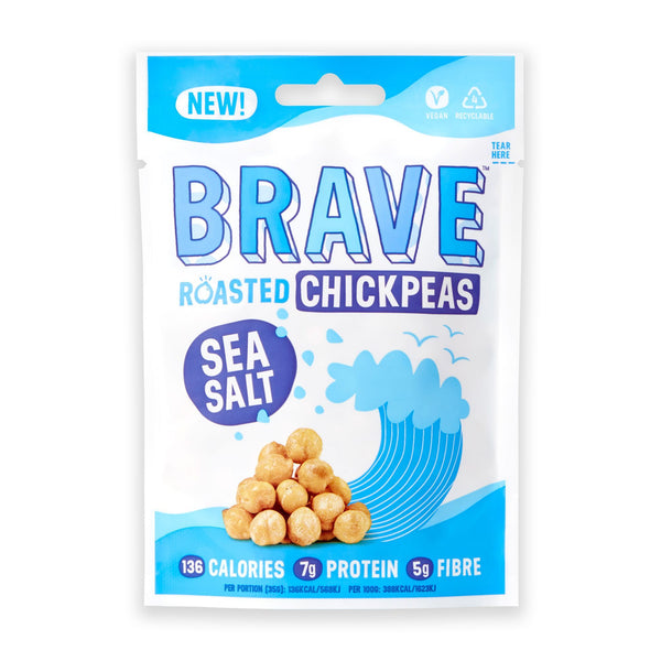 Brave - Sea Salt Roasted Chickpeas 35g