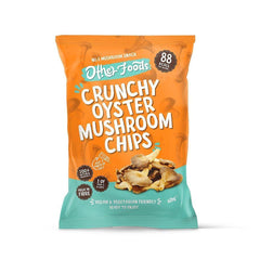 Other Foods Ltd A - Other Foods Crunchy Trumpet Mushroom Chips - 6 x 40g