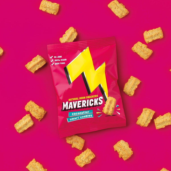 Mavericks Snacks Ltd - Mavericks Coconutter Smart Cookies 20g