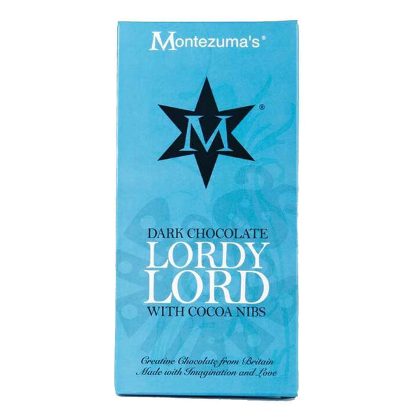 Montezuma's - Lordy Lord Dark Chocolate 90g