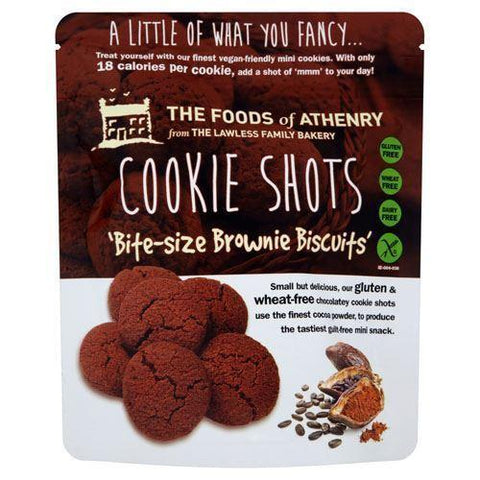Foods Of Athenry - Cookie Shots Brownie Biscuit Bites 120g