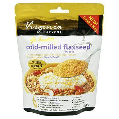 Virginia Harvest - Cold Milled Flaxseed 200g