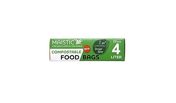 Maistic - Compostable Food/freezer Bags 20 Bags