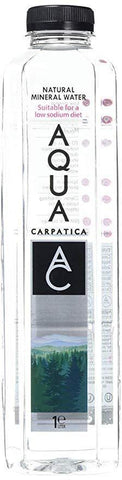 Aqua Carpatica - Low Sodium Still Water - Ultra Low Nitrates 1ltr
