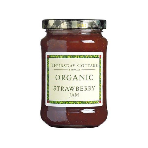 Thursday Cottage - Strawberry Jam - Organic 340g