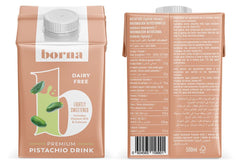 Borna Foods - Premium Pistachio Drink Lightly Sweetened 500ml