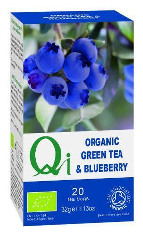 Herbal Health - Green Tea & Blueberry - Organic 20 Bags