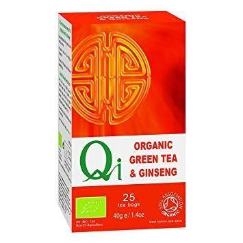 Herbal Health - Green Tea & Ginseng - Organic & Fairtrade 25 Bags