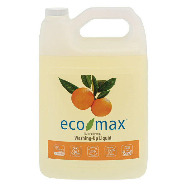 Eco-max - Eco-max  Washing-up Liquid - Orange 4ltr