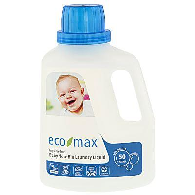 Eco-max - Eco-max  Laundry Detergent 50 Wash - Fragrance Free 1.5ltr