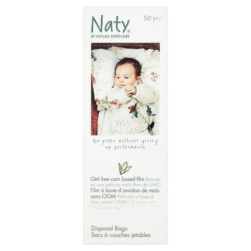Nature Baby - Eco Nappy Bags 50s