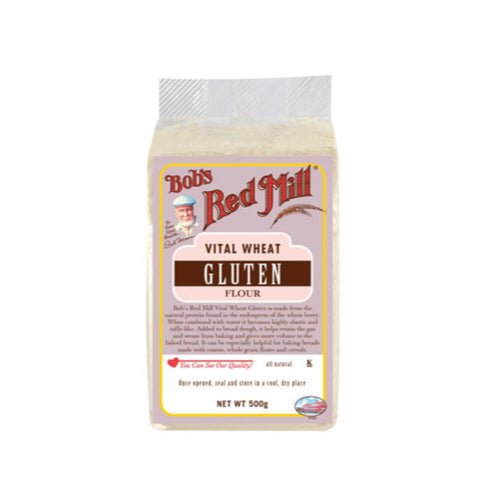 Bobs Red Mill  Vital Wheat Gluten Flour - 500g - Flour 2 Door