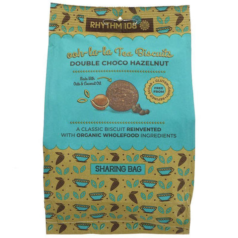 Rhythm 108 - Double Choco Hazelnut Biscuits 135g