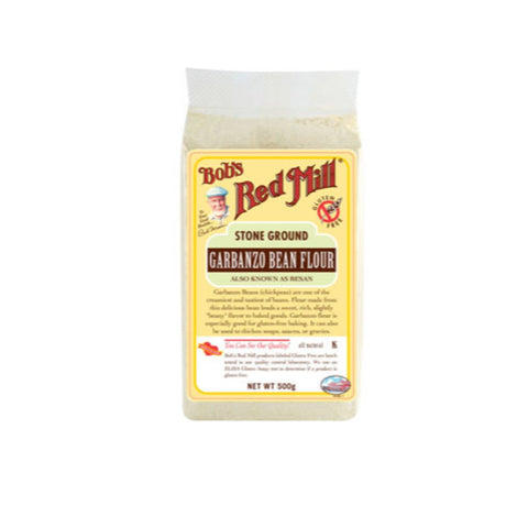 Bobs Red Mill  Gluten Free Garbanzo - Chickpea Flour - 500g - Flour 2 Door