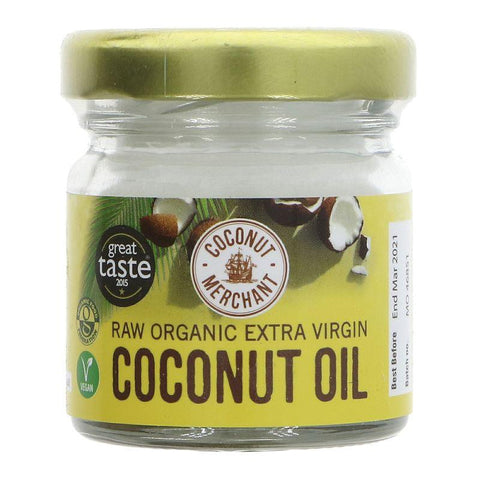 Coconut Merchant - Raw Extra Virgin Coconut Oil 35ml