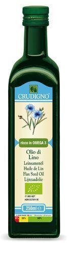 Crudigno - Organic Flax Seed Oil 250ml