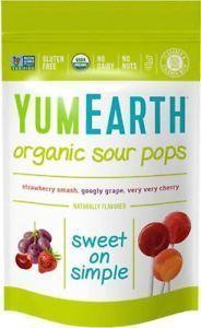 Yumearth - Organic Sour Pops - 14 Pack 85g