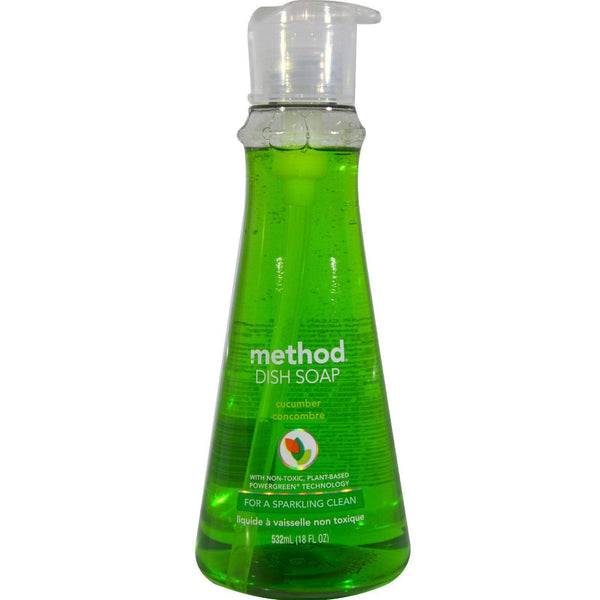 Method Products Ltd A - Method Pump Washing Liquid - Cucumber 532ml