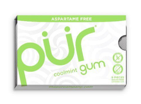 Pur - Coolmint Gum - Blister 9 Piece