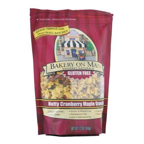 Bakery On Main - Nutty Cranberry & Maple Granola 340g