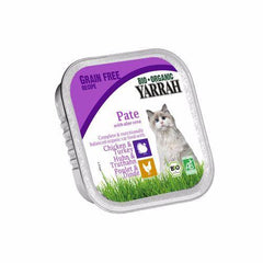 Yarrah - Cat Food - Chicken & Turkey Pate With Aloe Vera 100g
