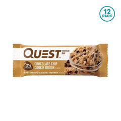 Quest Bar - Quest Bar  Chocolate Chip Cookie Dough Protein Bar 60g