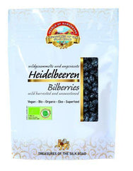 Pearls Of Samarkand - Organic Wild Blueberries (bilberries) 100g