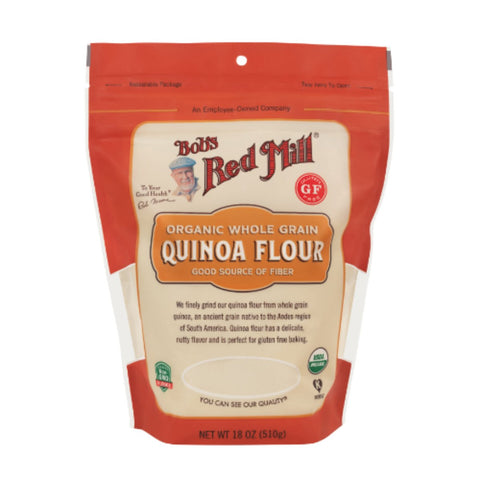 Bobs Red Mill  Organic Quinoa Flour - 510g - Flour 2 Door