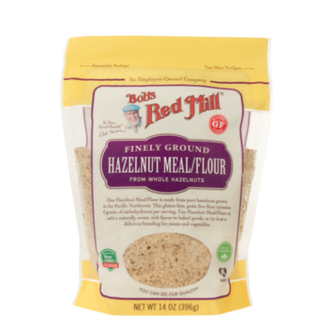 Bobs Red Mill  Natural Hazelnut Meal Flour - 396g - Flour 2 Door