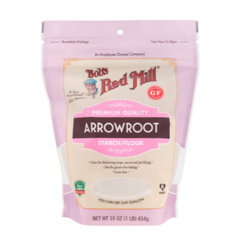 Bobs Red Mill  Arrowroot Starch Flour - 454g - Flour 2 Door
