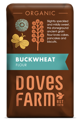 Doves Farm - Organic Buckwheat Flour 1kg - Flour 2 Door