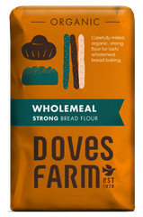 Doves Farm - Organic Strong Wholemeal Bread Flour 1.5kg - Flour 2 Door