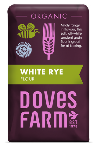 Doves Farm - White Rye Flour Organic 1kg - Flour 2 Door