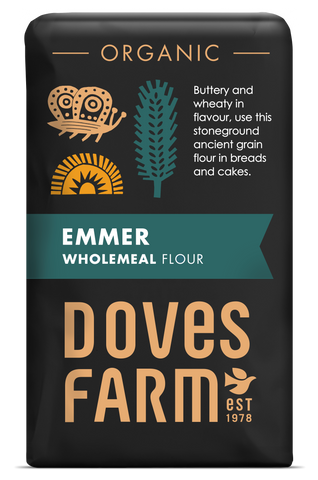 Doves Farm - Emmer Flour Wholemeal Stoneground Organic - Flour 2 Door