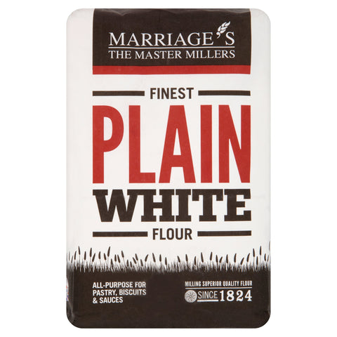 Marriages Finest Plain White Flour 1.5kg - Flour 2 Door