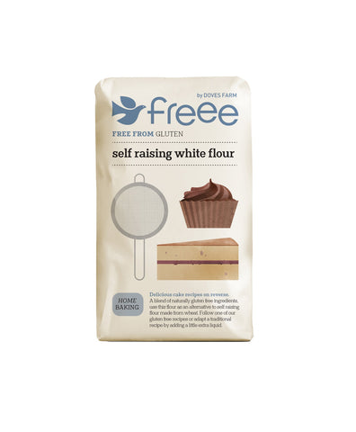 Doves Farm - Gluten Free Self Raising White Flour 1kg - Flour 2 Door