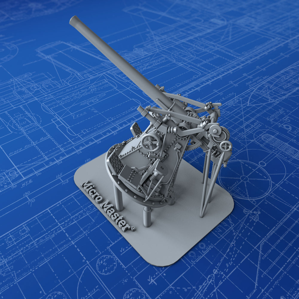 "1/144 Royal Navy 3"" 20cwt MKI Gun"