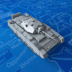 1/144 Scale WW2 British Crusader Mk II Medium Tank x1
