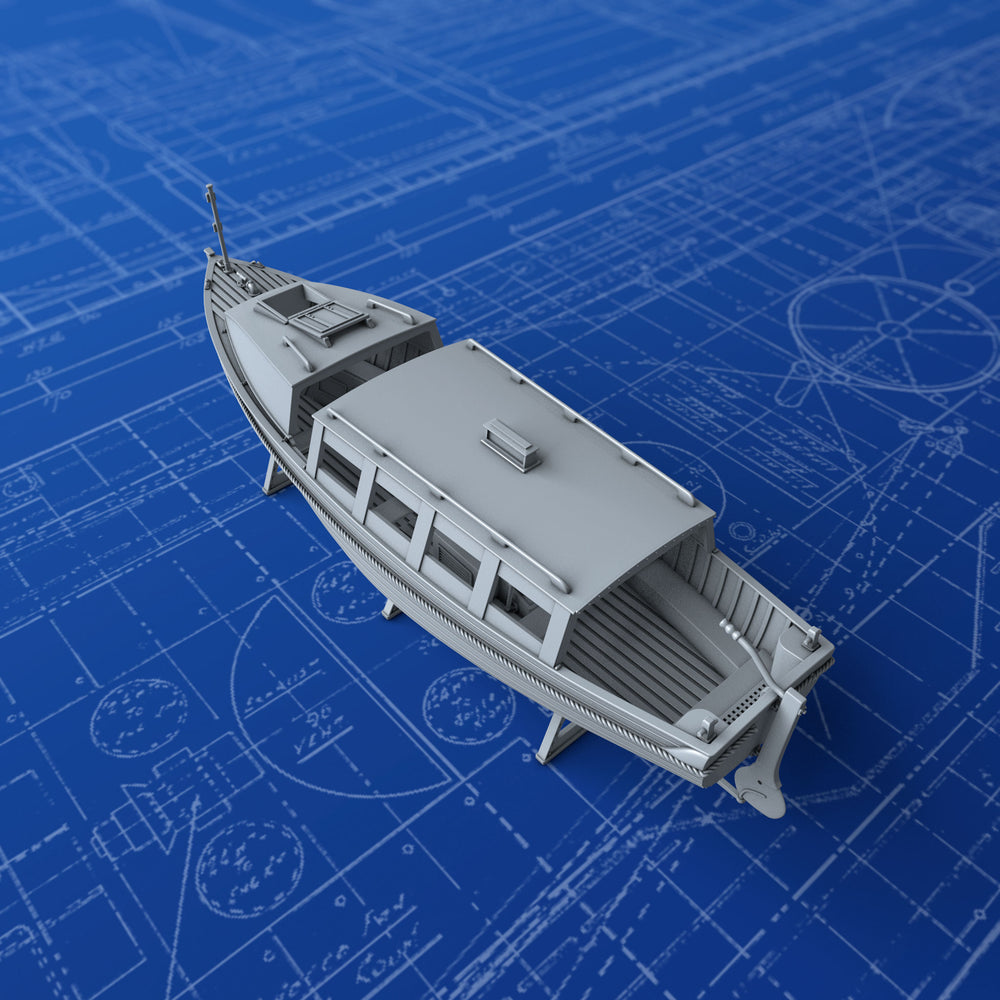 1/192 Royal Navy 25ft Motor Cutter