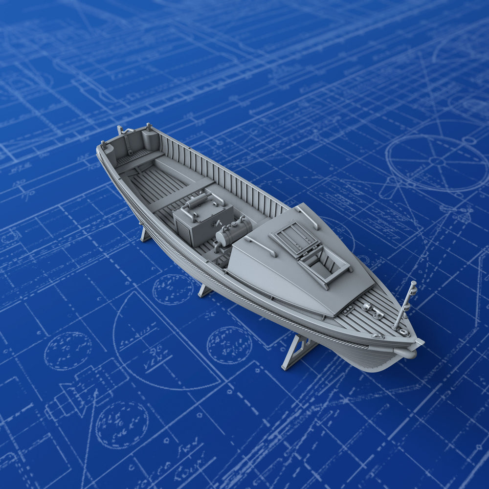 1/200 Royal Navy 25ft Motor Cutter