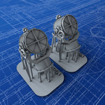 "1/200 Royal Navy 44"" Searchlights x2"