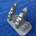 1/600 Royal Navy 25ft Fast Motor Boats x2